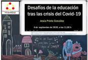 """Embedded thumbnail for WEBINAR: """"Desafíos de la educación tras la crisis del Covid-19"""""""